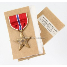 Bronze star US en boite