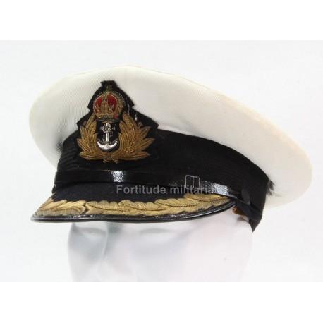 Royal Navy officer's visor cap
