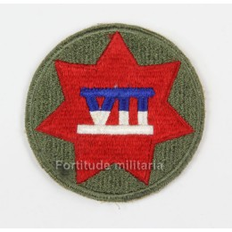 US 7th army corps patch