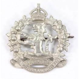 "Canadian cap badge ""The Lorne Scots"""