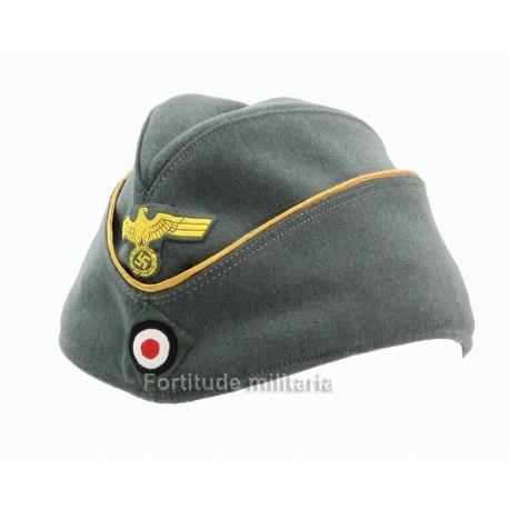 Coastal artillery officer's side cap
