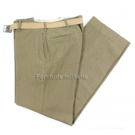 US army wool trousers