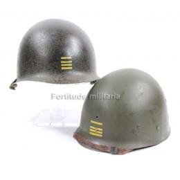 Casque Mi1 Commandant 1ere Armee Française