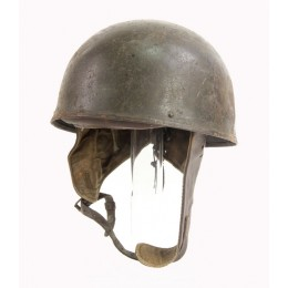 1942 dated dispatch rider's helmet