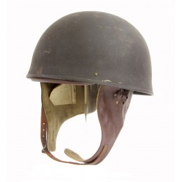 1945 dated dispatch rider's helmet