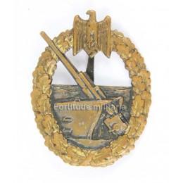 Coastal artillery award
