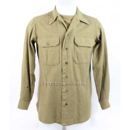 "US wool shirt ""15-35"""