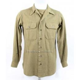 "US wool shirt ""15-35"""