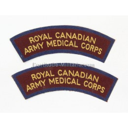 "Canadian titles ""Medical corps"""