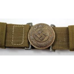 Polizei officer Afrikakorps belt and buckle