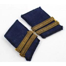 Kriegsmarine collar tabs