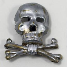 Heer visor cap skull