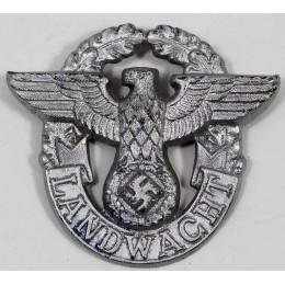 Landwache visor cap insignia
