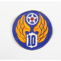 10th USAAF patch