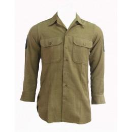 "US Army wool shirt ""technician 4th grade"""