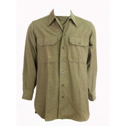 Chemise moutarde US ARMY