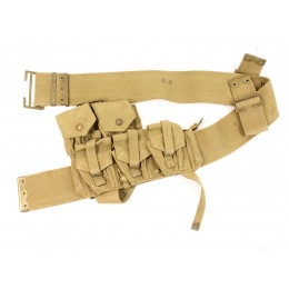 British P-08 web belt and ammo pouch