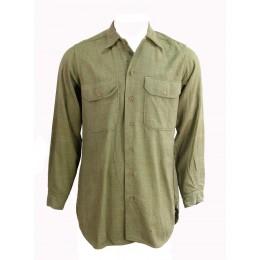"US Army wool shirt ""14'-34"""