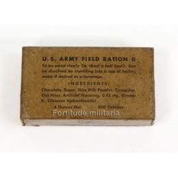 US Army D ration