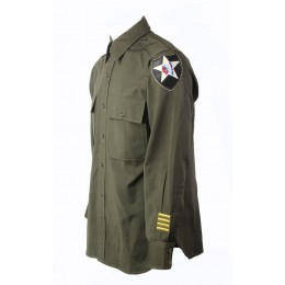US lieutnant 2nd division wool shirt 42-64